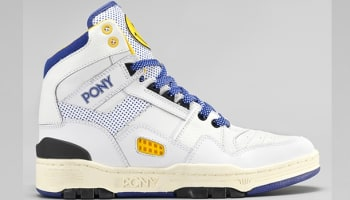 Pony M-100 White/Blue-Yellow