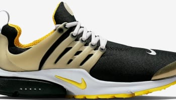 Nike Air Presto Black/Neutral Grey-Neutral Grey-Yellow Streak