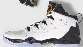 Jordan Melo M10 White/Metallic Gold-Black