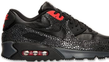 Nike Air Max '90 Deluxe Black/Black-Infrared