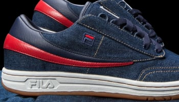 Fila Original Tennis Denim/Navy-Fila Red