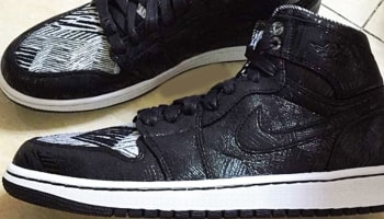 Air Jordan 1 Retro High BHM Black/White