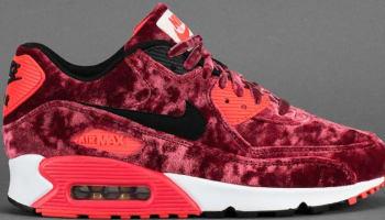 Nike Air Max '90 Anniversary Gym Red/Black-Infrared-Metallic Gold