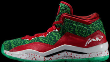 Li-Ning Way Of Wade 3 Green/Red-White