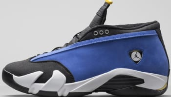 Air Jordan 14 Retro Low Varsity Royal/Varsity Maize-Black-White