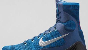 Nike Kobe 9 Elite Brave Blue/Military Blue-Dark Obsidian-Metallic Silver