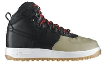 Nike Air Force 1 Duckboot Black/Black-Khaki