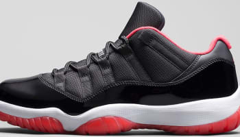 Air Jordan 11 Retro Low Black/True Red-White