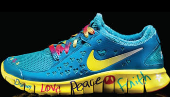 Shelby's Nike Free Run 2 Women's DB Doernbecher