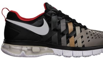 297ed13f36fc Nike Fingertrap Max NRG Challenge Red Metallic Silver-Clear Grey-Black