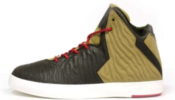 Nike LeBron XI NSW Lifestyle Dark Loden/Dark Loden-Parachute Gold-University Red