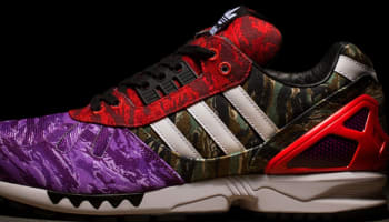 adidas Consortium ZX 7000 Black/White-Red