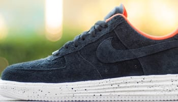 Nike Lunar Force 1 Low SP Black/Team Orange-White