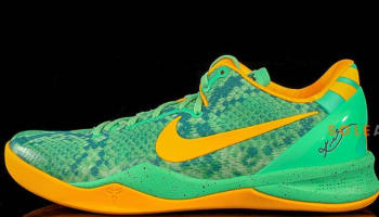 Nike Kobe 8 System Green Glow/Laser Orange-Mineral Teal