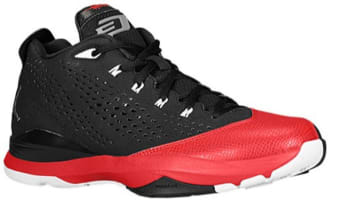 Jordan CP3.VII Black/White-Gym Red-Cement Grey