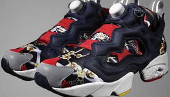 Reebok Instapump Fury Black/Red-Grey