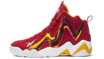 Reebok Kamikaze II Mid Excellent Red/Yellow-White
