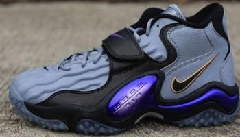 Nike Zoom Turf Jet '97 Stealth/Club Purple-Black-Stadium Green
