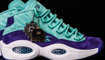 Reebok Question Mid Light Aqua/Purple