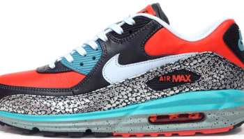 Nike Air Max Lunar90 Deluxe QS Team Orange/Catalina-Black-Anthracite