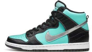 Nike Dunk High Premium SB Aqua/Chrome-Black