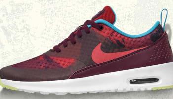 Women's Nike Air Max Thea Print N7 Deep Garnet
