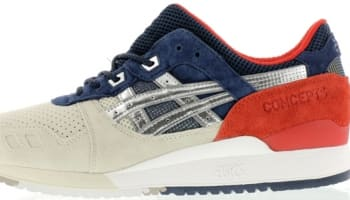 Asics Gel-Lyte III Silver Cloud/Gold