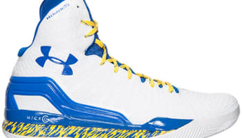 Under Armour Micro G ClutchFit Drive White/Taxi-Royal