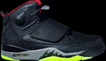 Jordan Son Of Mars Black/Gym Red-Cool Grey-Green Pulse