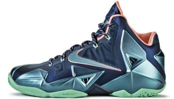 Nike LeBron 11 Akron vs. Miami Brave Blue
