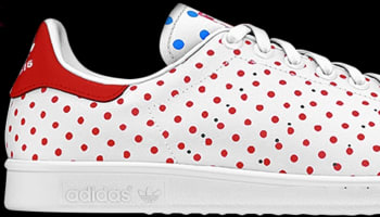 adidas Originals Stan Smith White/Red-Bluebird