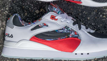 Fila Overpass White/Red-Black