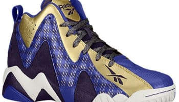Reebok Kamikaze II Mid GS Portrait Purple/Ultima Purple-Gold Metallic-Chalk