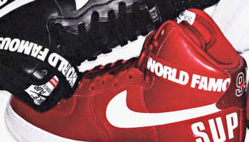 Nike Air Force 1 High Supreme SP Varsity Red/White