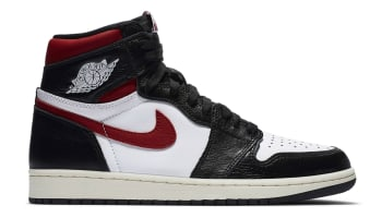 Air Jordan 1 Retro High OG Black/White-Sail-Gym Red
