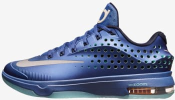 Nike KD VII Elite Gym Blue/Light Retro-Obsidian-Metallic Silver