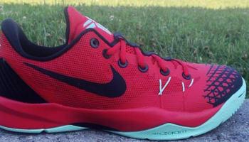 Nike Zoom Kobe Venomenon 4 University Red/Black-Medium Mint