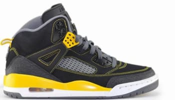 Jordan Spiz'ike Black/University Gold-Cool Grey-White