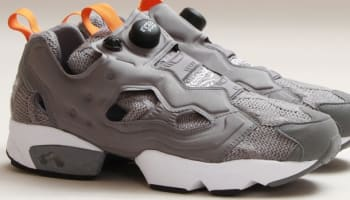 Reebok Instapump Fury Foggy Grey/White-Black-Orange