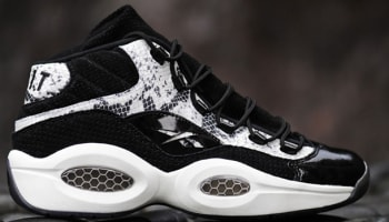 Bait x Reebok Question Mid Snake Black/White