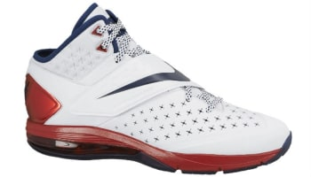 Nike CJ81 Trainer Max White/Midnight Navy-University Red