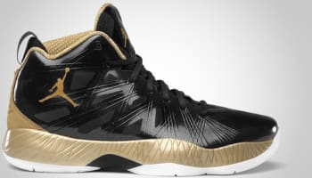 Air Jordan 2012 Lite Black/Metallic Gold-White