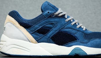 Puma R698 Navy Blue/White