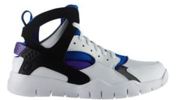 Nike Air Huarache BBall 2012 White/Black-Pure Purple-Spark