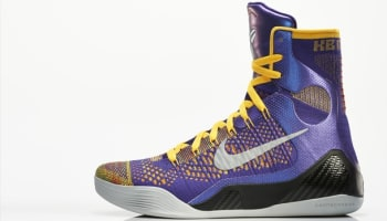 Nike Kobe 9 Elite Court Purple/White-Laser Orange-Wolf Grey