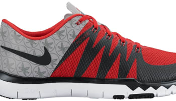Nike Free Trainer 5.0 V6 Amp Wolf Grey/University Red-White-Black