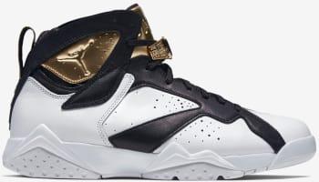Air Jordan 7 Retro C&C White/Metallic Gold-Black