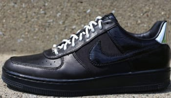 Nike Air Force 1 Downtown Low Black/Metallic Silver