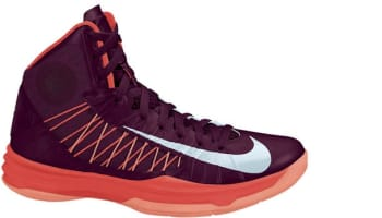 Nike Lunar Hyperdunk 2012+ Team Red/Metallic Silver-Bright Crimson-Melon Crush
