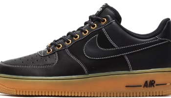 d4265a969f431 Nike Air Force 1 Low Black Black-Sail-Gum Light Brown